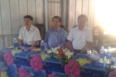 Liên Đội tặng quà tết Canh Tý 2020 cho học sinh trường TH Nguyễn Thái Học – đơn vị kết nghĩa.