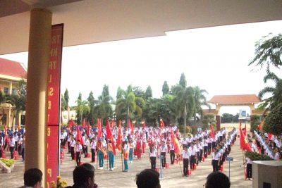 Một số hoạt động của đội TNTP Hồ Chí Minh Liên đội  trường THCS Nguyễn Khuyến chuẩn bị bước vào năm học mới 2017-2018