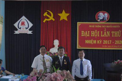 Đại hội Chi bộ trường THCS Nguyễn Khuyến Nhiệm kỳ 2017 – 2020