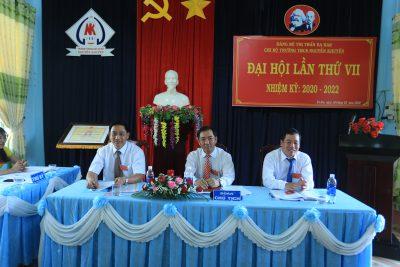 Đại hội Chi bộ trường THCS Nguyễn Khuyến lần thứ VII, nhiệm kỳ 2020 – 2022