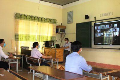 Ngành giáo dục huyện Ea Kar ứng dụng hiệu quả phần mềm K12Online vào dạy học trực tuyến